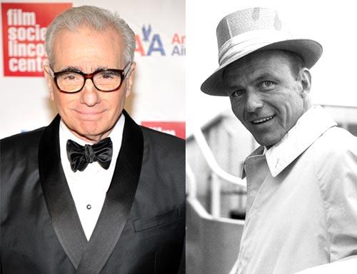 Martin Scorsese and Frank Sinatra