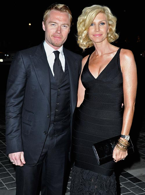 Ronan Keating and Yvonne
