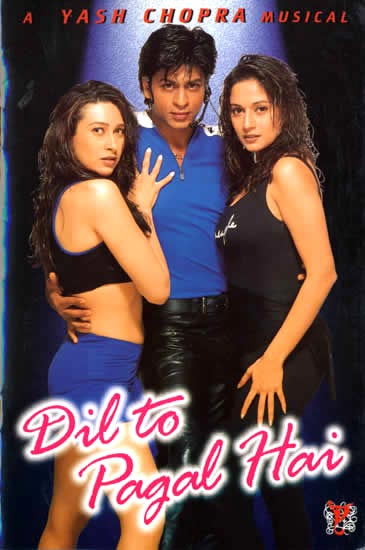 Movie poster of Dil Toh Pagal Hai
