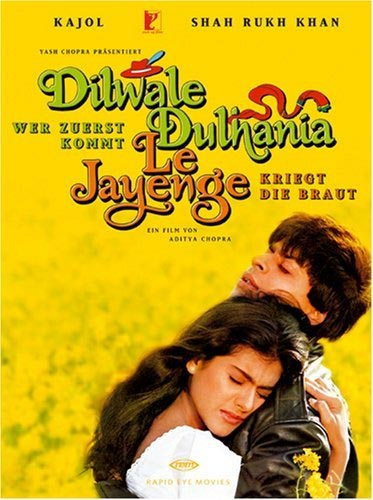 Movie poster of Dilwale Dulhania Le Jayenge
