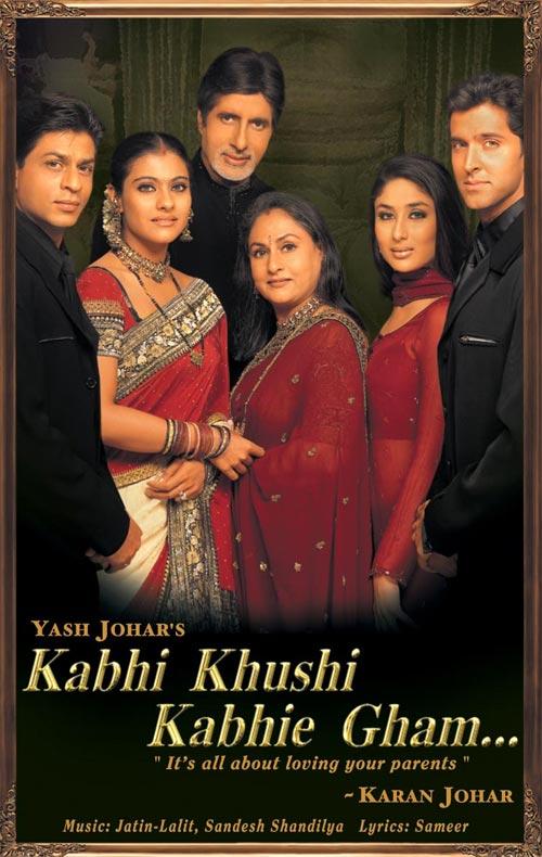 Movie poster of Kabhi Khushi Kabhie Gham