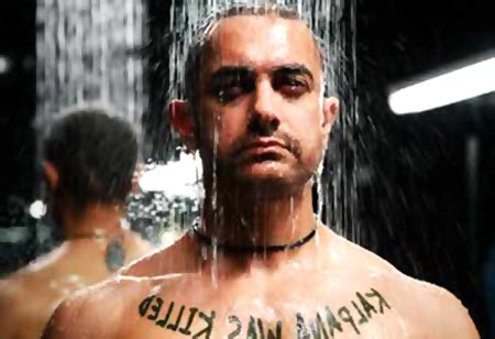 Aamir Khan in Ghajini