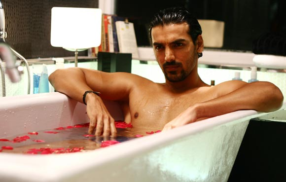 John Abraham in No Smoking