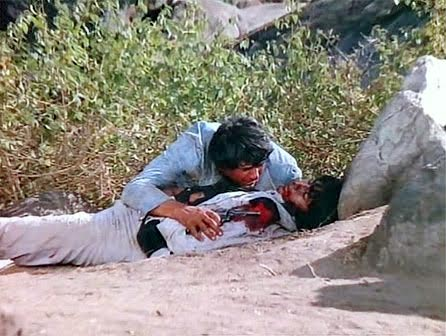 Dharmendra and Amitabh Bachchan in Sholay