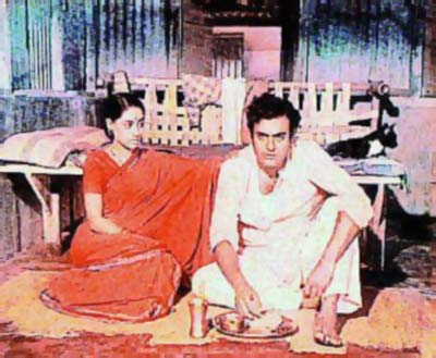 Jaya Bachchan and Sanjeev Kumar in Koshish