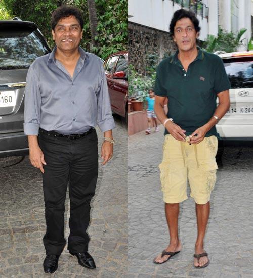 Johnny Lever and Chunkey Pandey
