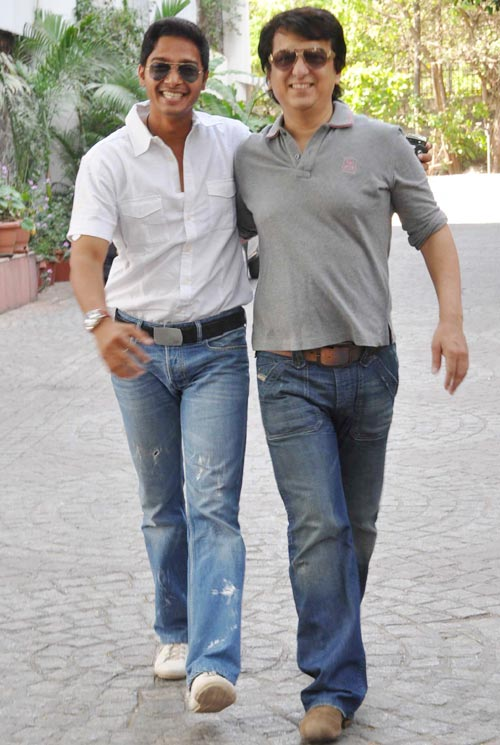 Shreyas Talpade and Sajid Nadiadwala