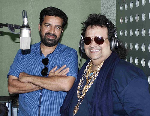 Director Prabhu Raja Cholan and Bappi Lahiri