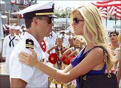A scene in Battleship