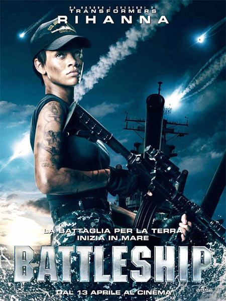 Movie poster of Battleship