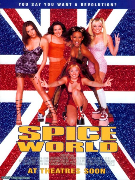 Movie poster of Spice World