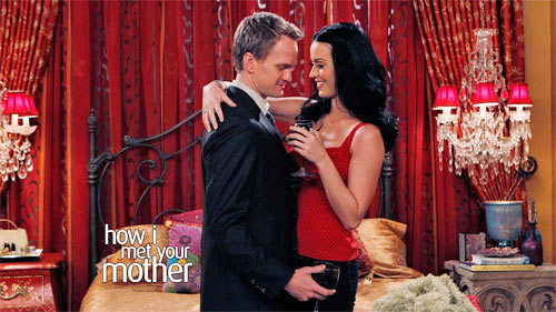 Katey Perry with Neil Patrik Harris in How I Met Your Mother