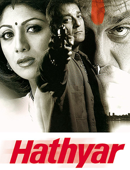 Movie poster of Hathyar