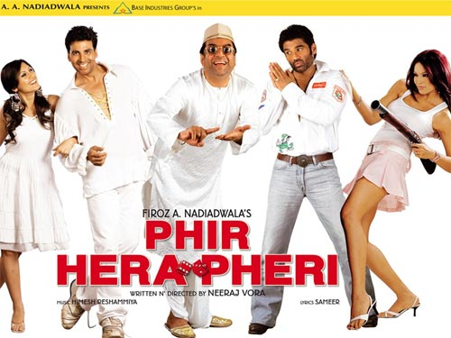Movie poster of Phir Hera Pheri