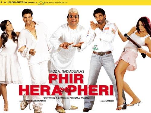 Movie poster of Phir Hera Pheri