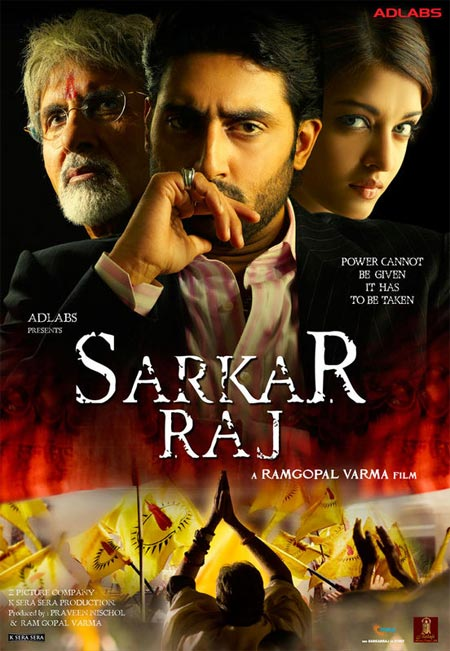 Movie poster of Sarkar Raj