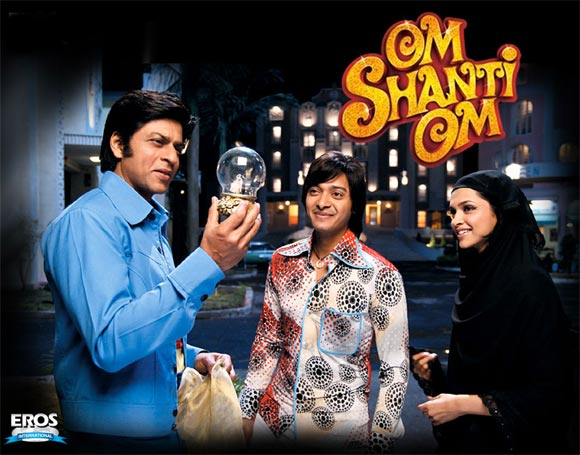 Movie Poster Of Om Shanti Om