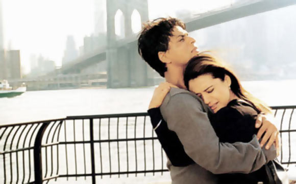 Shah Rukh Khan and Preity Zinta in Kal Ho Naa Ho