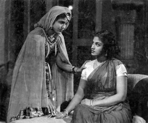 A scene from Chandralekha