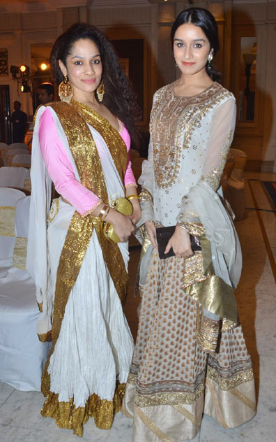 Masaba Gupta and Shraddha Kapoor