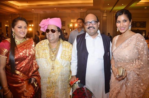 Jaya Prada, Amar Singh and Sophie Choudry