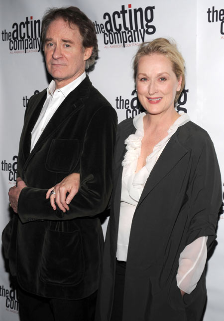 Kevin Kline and Meryl Streep