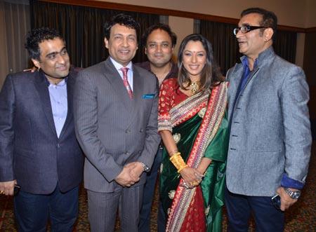 Kunal Ganjawala, Shekhar Suman, Rupali Ganguli and Abhijeet