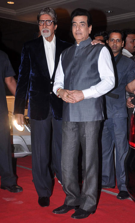 Amitabh Bachchan and Jeetendra