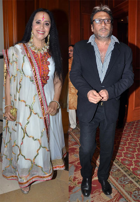 Ila Arun and Jackie Shroff