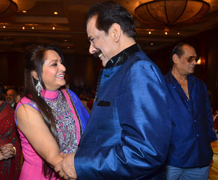 Jaya Prada and Subroto Roy