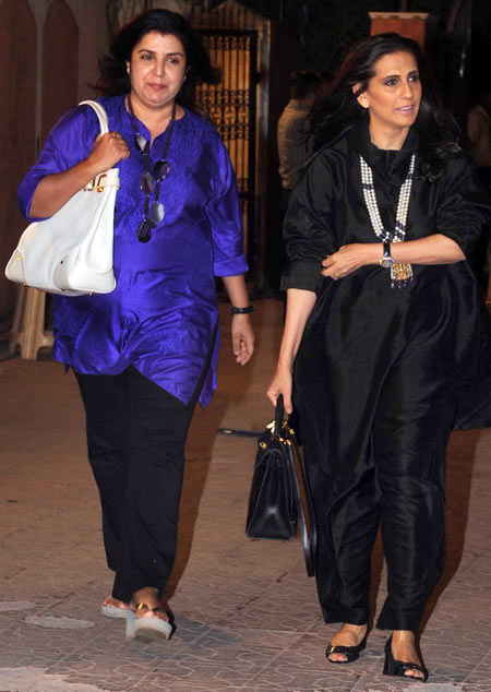 Farah Khan and Sunita Kapoor