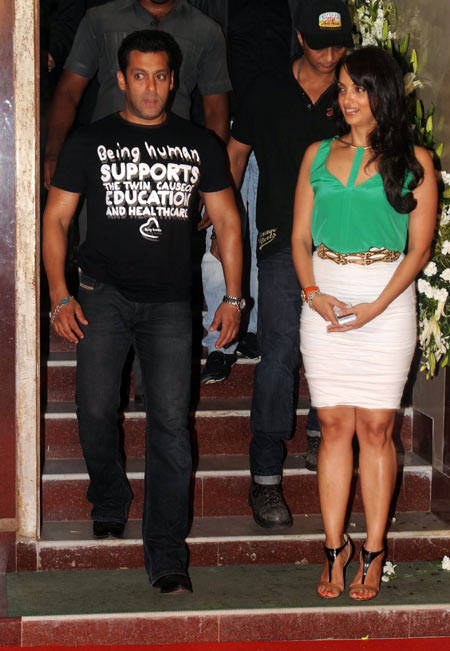 Salman Khan and Seema Khan