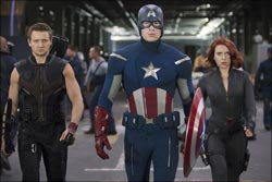 A scene from The Avengers