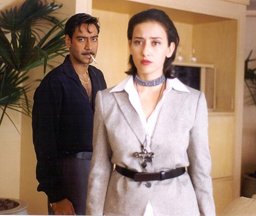 Ajay Devgn and Manisha Koirala - Company