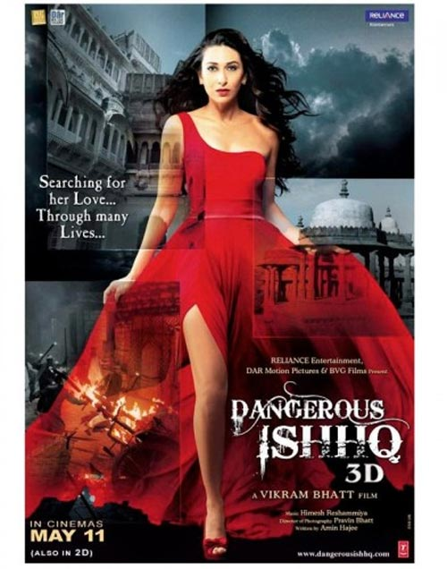 Movie poster of Dangerous Ishq