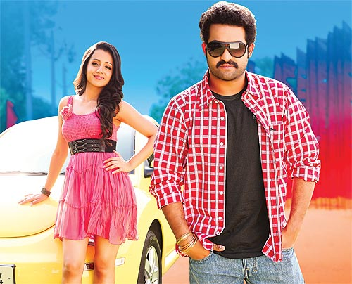 Trisha and NTR Jr