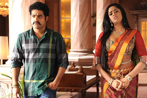 NTR Jr and Karthika Nair