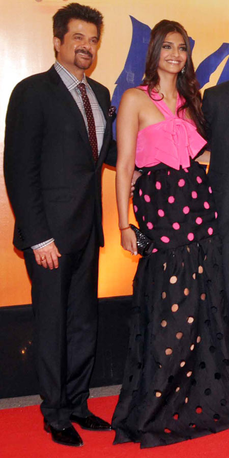 Anil Kapoor and Sonam Kapoor