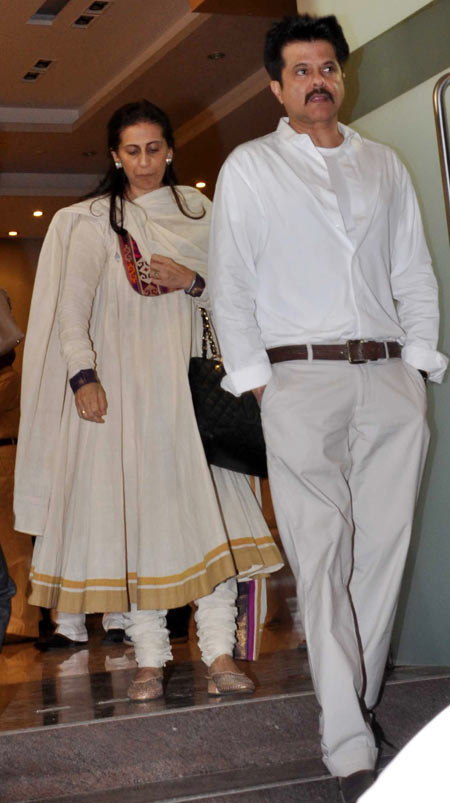 Sunita and Anil Kapoor