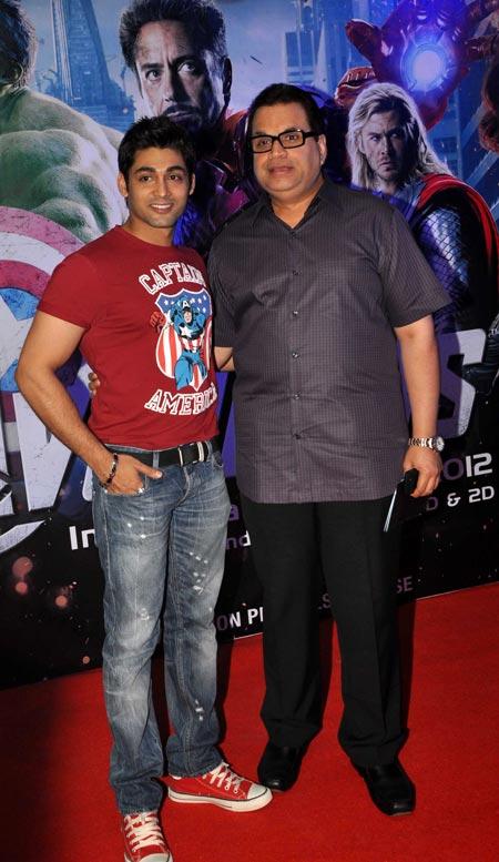 Ruslaan Mumtaz and Ramesh Taurani