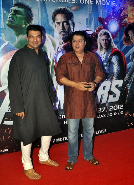 Siddharth Roy Kapoor and Sajid Khan