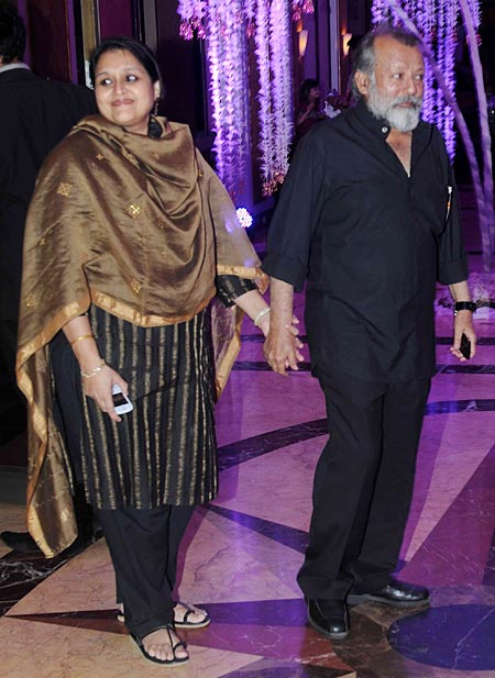 Supriya Pathak and Pankaj Kapoor