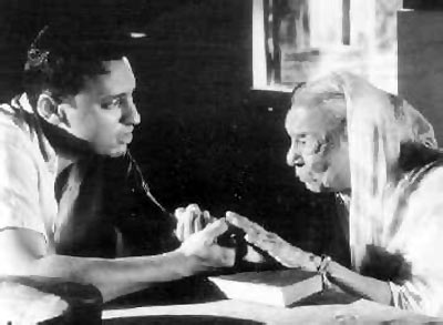 Zohra Sehgal (right) in The Mystic Masseur