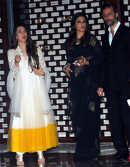 Karisma Kapoor and Raveena Tandon