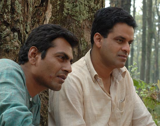 Nawazuddin Siddiqui with Manoj Bajpai in Chittagong