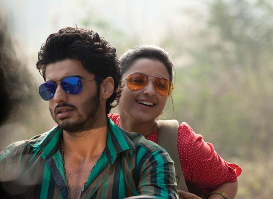 Parineeti Chopra And Arjun Kapoor in Ishaqzaade