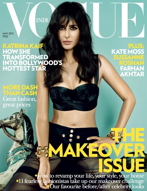 Katrina Kaif on Vogue Magazine cover