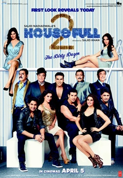 Movie poster of Housefull 2