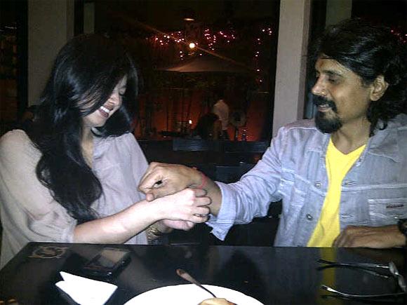 Ayesha Takia and Nagesh Kukunoor