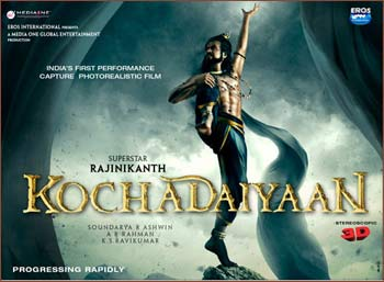 The Kochadaiyaan poster